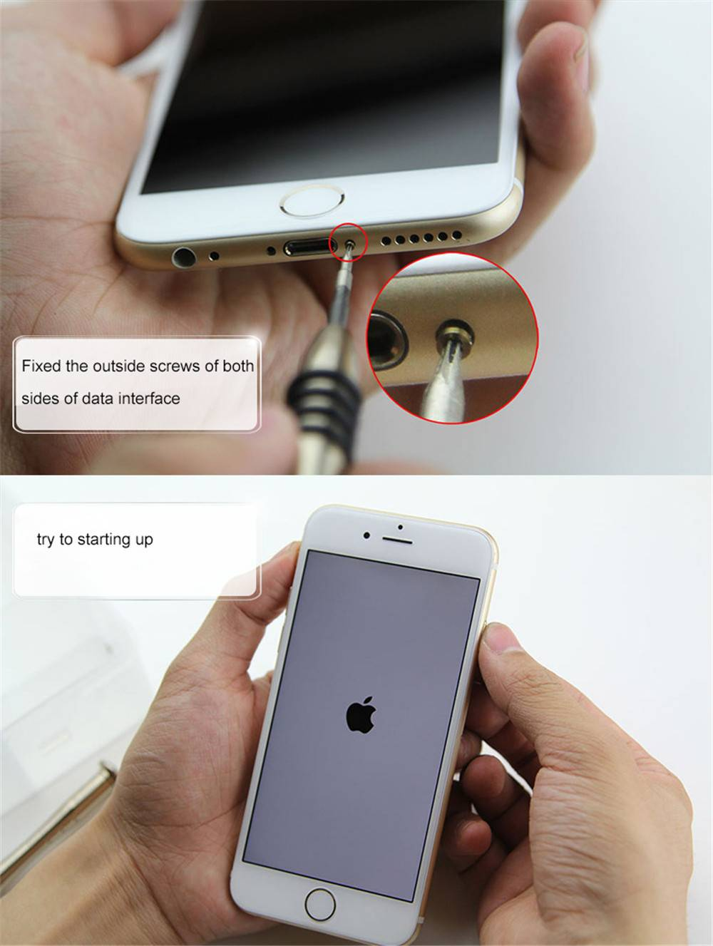 How to change iphone lcd-7
