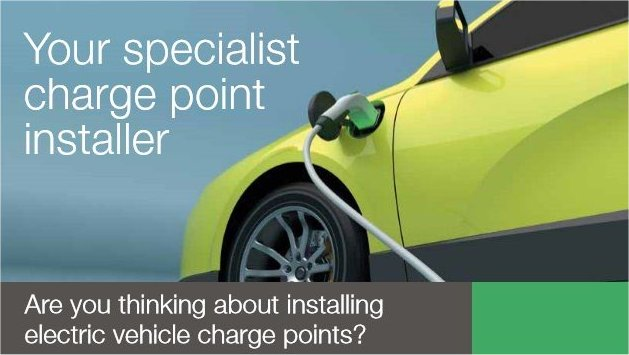 EV Car charging point - L and C Electrical Installations