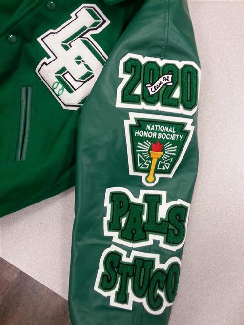 letter jacket patches