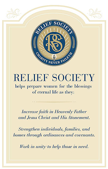 Updated Purpose Statement Clarifies Work of Relief Society, Says