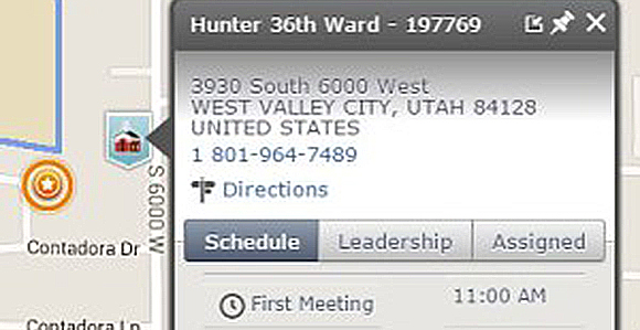 Quick Tip Updating Ward and Branch Meeting Times on LDSorg
