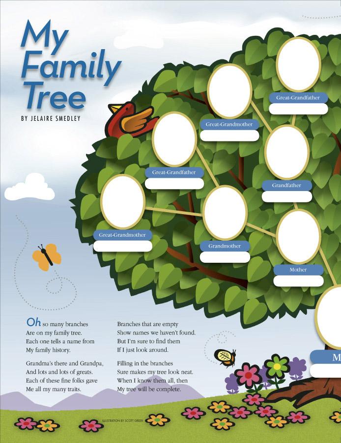 My Family Tree - friend