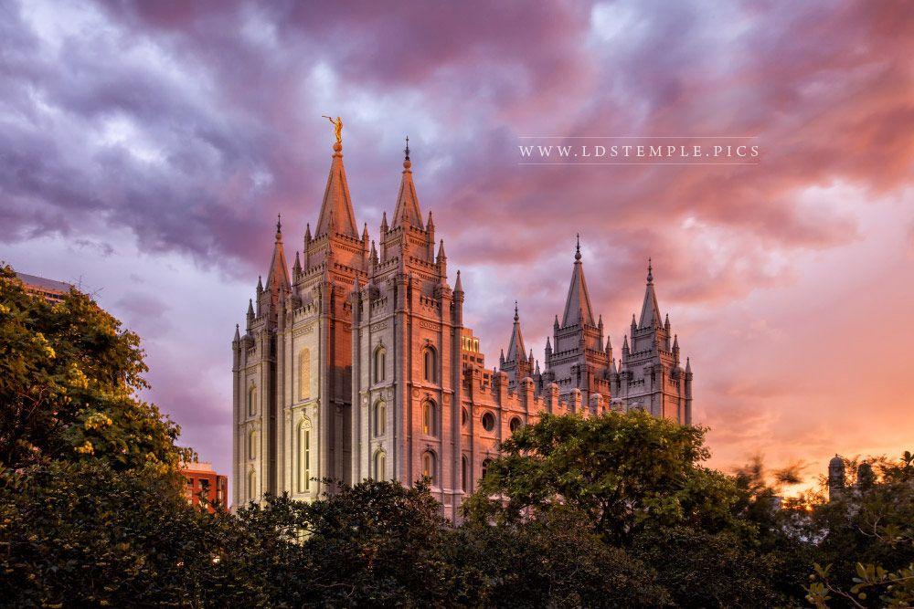 Portland Oregon Fall Had Wallpaper Salt Lake Temple Sunset Southwest Lds Temple Pictures