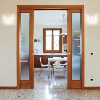Eclisse Sliding Double Cavity Door System | Leader Doors