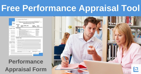 Sample Performance Appraisal Tool Free Download