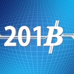 2018 with bitcoin symbol replacing the 8.