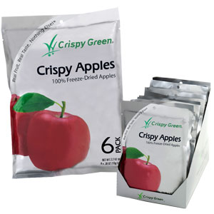 Crispy Green-Freeze-Dried Apples