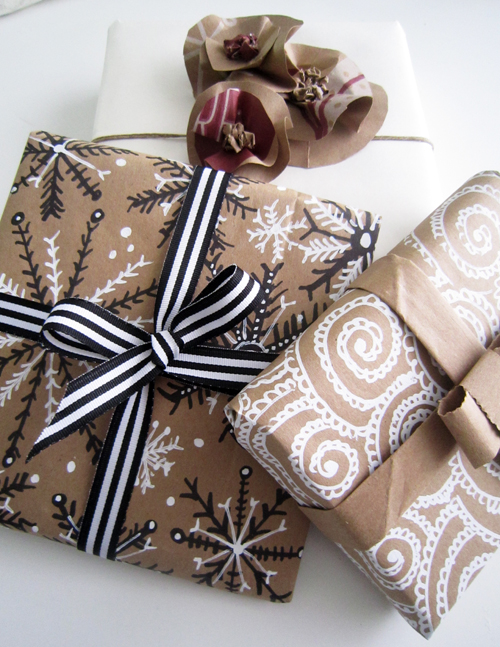 Alisa Burke Eco Wrapping Ideas