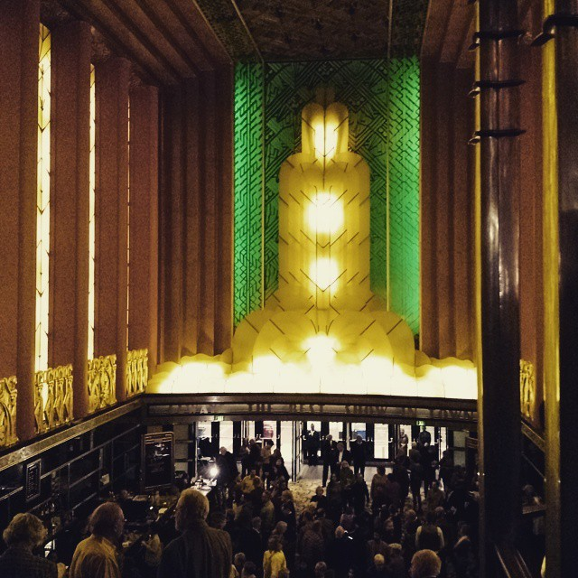 It's fun to just be a patron for once at this gorgeous theater.  #oaklandeastbaysymphony #paramounttheatre