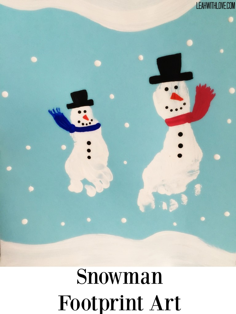 Snowmen With Kid S Picture As Head