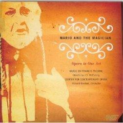 Mario and the Magician Center for Contemporary Opera Albany Records