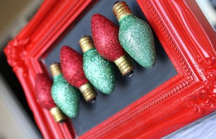 How to Add Glitter to Christmas