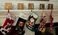 DIY Stocking Holders That are Easy and Cheap to Make ...