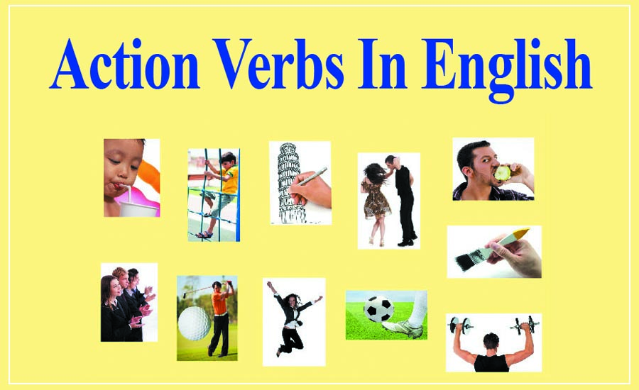 What Are Action Verbs in English - Action verbs definition and examples - action verbs