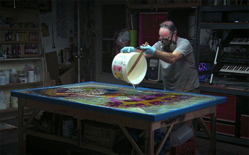 psychedelic artworks bruce riley