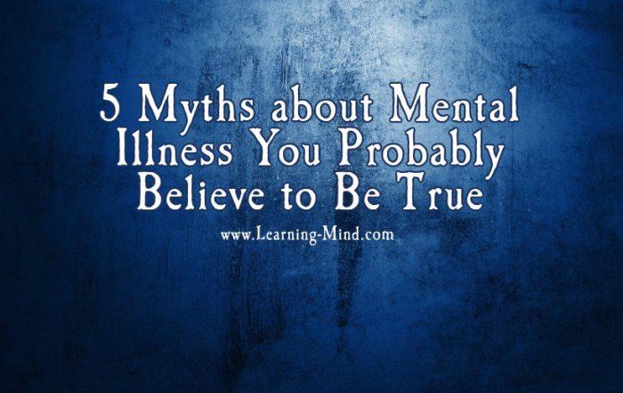 myths about mental illness