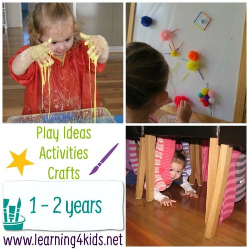 Play Ideas, Activities and Crafts \u2013 Play by Age Learning 4 Kids