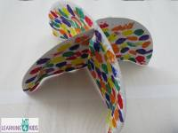 Paper Plate Umbrella Craft | Learning 4 Kids