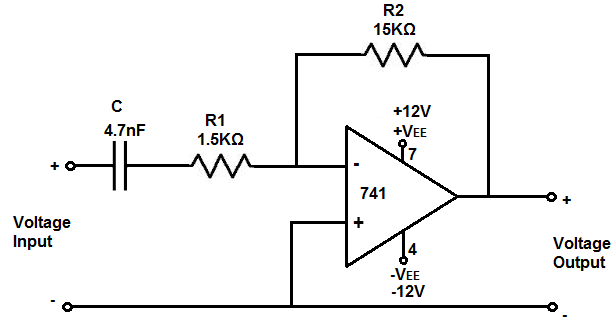 how to build a rc high pass filter