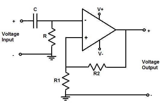 high pass filter circuit