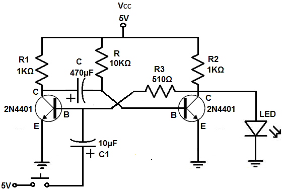 circuit to breadboard