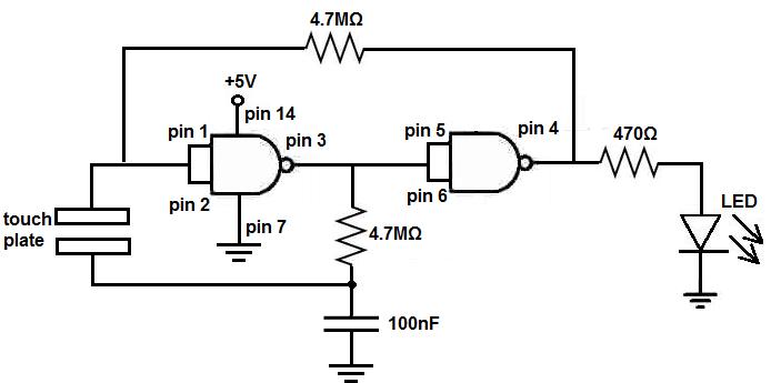 logic diagram nor gate
