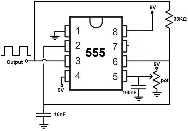 555 timer voltagecontrolled oscillator timer