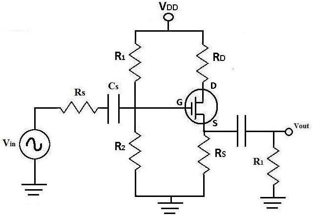 DC Analysis of a MOSFET Transistor Circuit - mos transistor