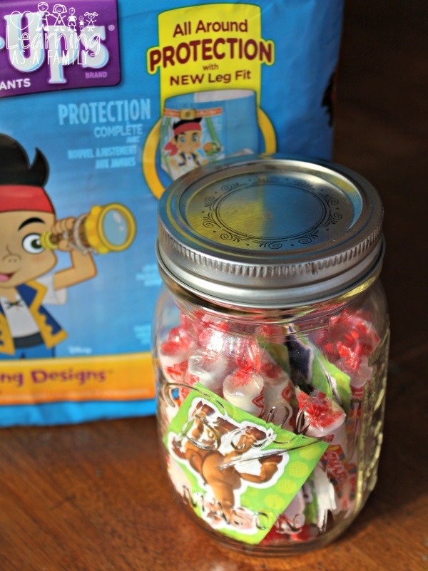 What We Put In Our Potty Training Rewards Jar and Potty Training