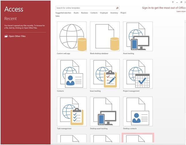 Microsoft Access 2013 Tutorial - Office 2013 Training IT Computer