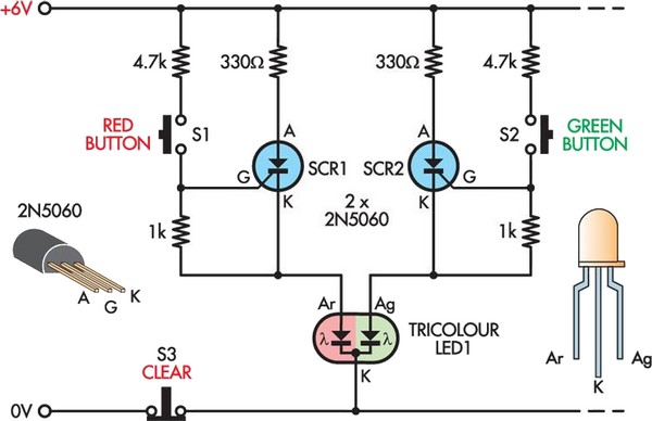 Circuit Diagram Led circuit diagram template