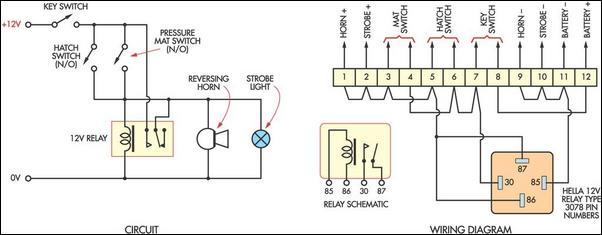 Security Alarm Wiring Diagram circuit diagram template