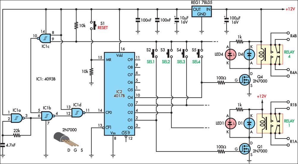 Push Button Latching Relay Wiring Diagram Wiring Diagram
