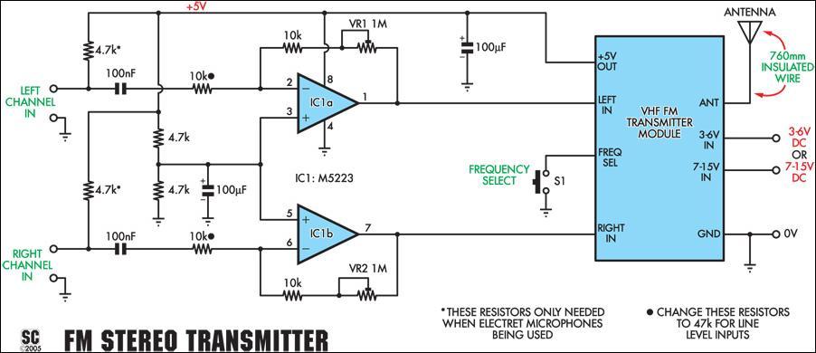 Wireless Microphone Diagram Wiring Diagram
