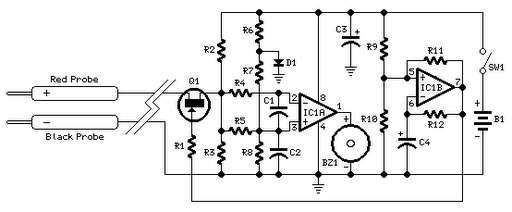 transistor tester 2 circuit schematic diagram