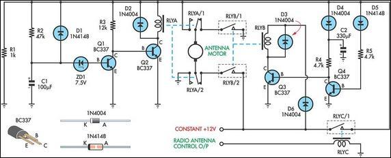 Car Power Antenna Wiring Diagram Wiring Diagram 2019