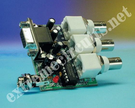 Bnc To Vga Schematic wiring diagram panel