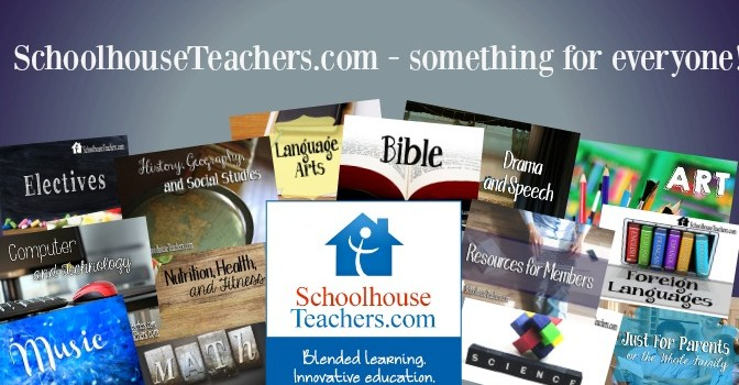 Schoolhouseteachers.com This is an online product with downloadable, printable elements as well as online classes and video components. Review}
