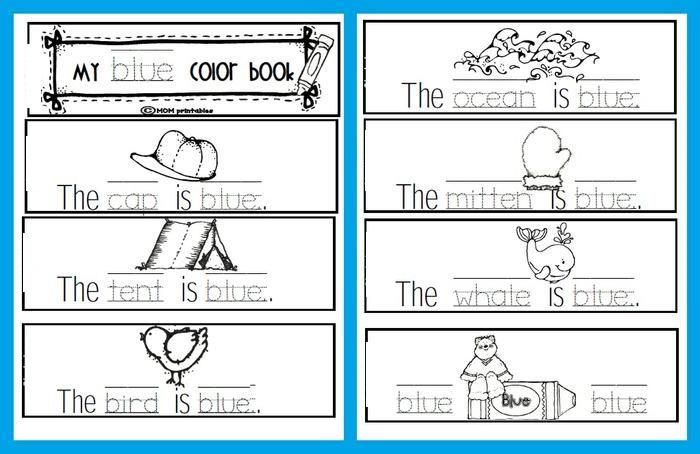 Printable Preschool Books Color \u2013 Learning Printable