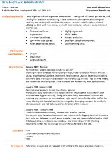 A Job Resume Example Senior Accountant Resume Cv Example Acesta Jobinfo Administrator Cv Template Learnistorg