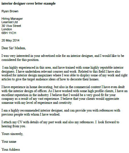 good way to start a cover letters