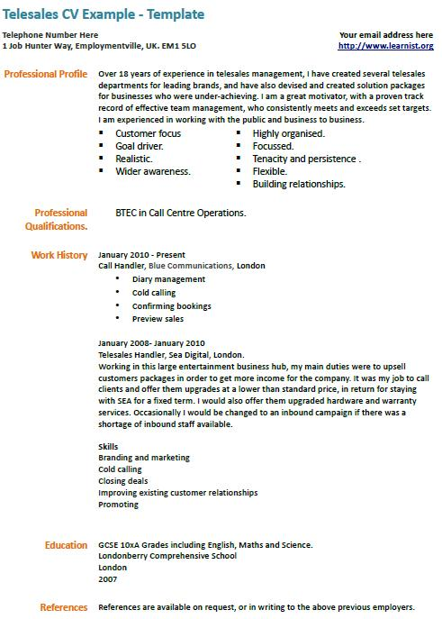 Writing the Essay Intro and Conclusion - Kathy\u0027s Home Page sample - telemarketing agent sample resume