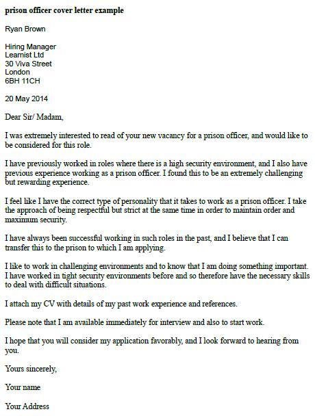 correctional officer cover letter - Onwebioinnovate - correctional officer or peer counselor resume