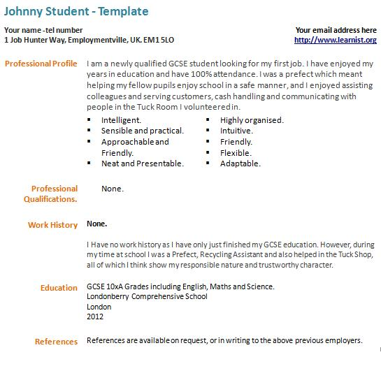 what to write in a first job resume. example resume resume ...