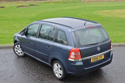 Vauxhall Zafira I Exclusiv Bad Credit Car Finance