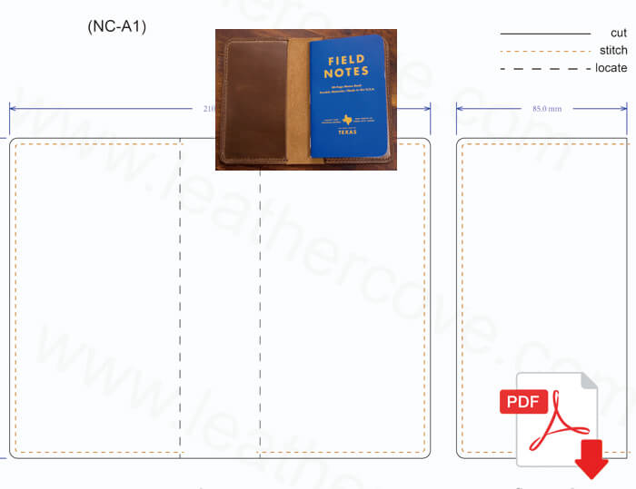 Free Leather craft Patterns and Tutorials, Free PDF Leather Wallet