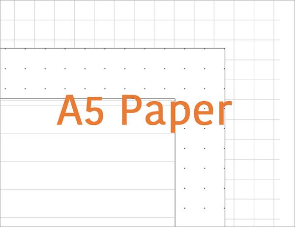 Printable Dot Grid Paper For Bullet Journal - Worksheet  Coloring Pages - printable dot grid paper