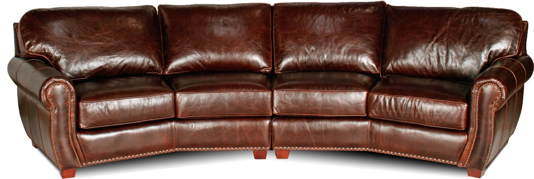 conversation sofa leather
