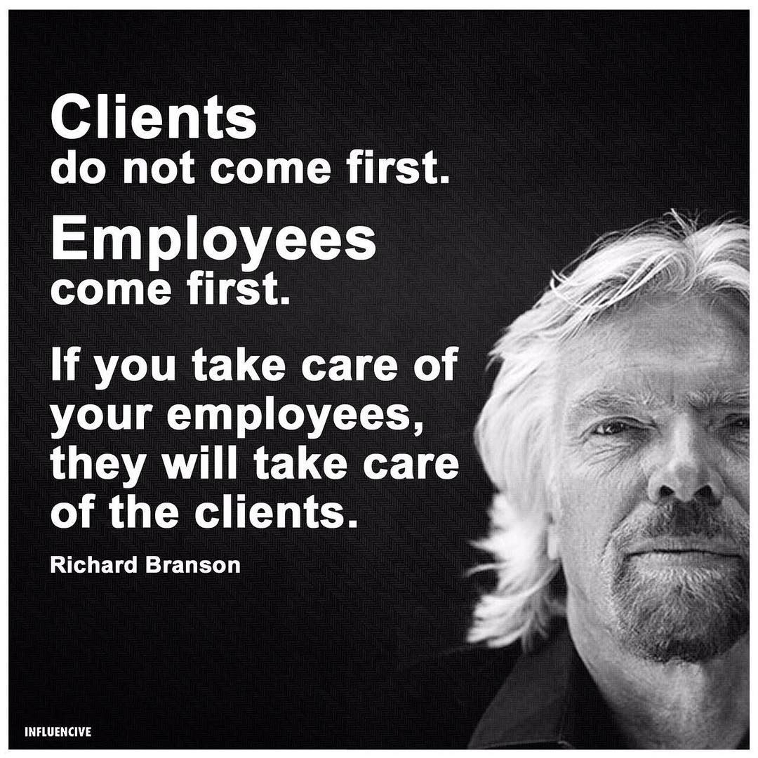 Wise Failure Quotes Wallpaper Clients Do Not Come First Employees Come First If You