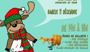 collecte de jouets pour les enfants malades par les commerçants du Beausset